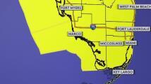 Emiten una vigilancia de tornado para todo el sur de Florida