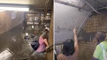 Inundación en estaciones del subway de NYC suscita preocupación por infraestructuras
