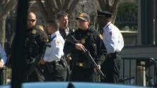 Un hombre se dispara a sí mismo delante de la Casa Blanca