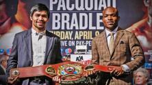 La controversial trilogía entre Manny 'Pacman' Pacquiao y Timothy Bradley