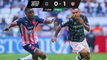 ¡De milagro! Necaxa agudiza 'crisis' de Rayados con gol tardío