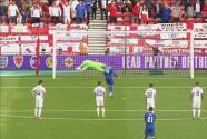 ¡Atajadón de Florian Nita! Henderson falla penalti, era el segundo tanto