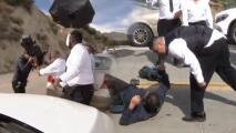 Seguridad de la boda de Chiquis Rivera agrede a camarógrafo de El Gordo y la Flaca