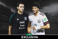"Santi Giménez sobre Raúl: ""Es un gran jugador, es mi referente"""