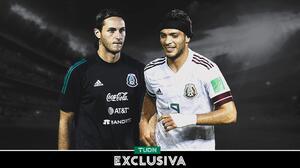 "Santi Giménez sobre Raúl Jiménez: ""Es un gran jugador, es mi referente"""