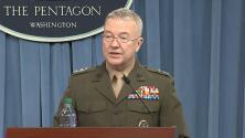 """Pentágono: """"Lanzamos 105 misiles sobre 3 objetivos construidos para desarrollar armas químicas"""""""
