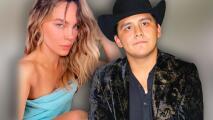Belinda 'regaña' a Christian Nodal por interrumpir su video