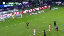¡GOL!  anota para Mazatlán FC. Camilo Sanvezzo