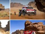 Carlos Sainz encabeza el Rally Dakar en Autos - Etapa 3