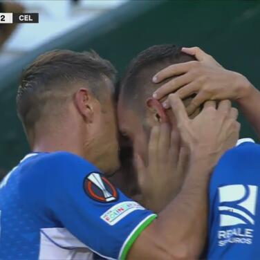 ¡Ya le dieron la vuelta! Borja Iglesias coloca el 3-2 a favor del Betis