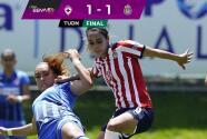 Resumen | Cruz Azul deja escapar el triunfo y empata 1-1 con Chivas