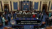 Avanza plan de infraestructura de Biden en el Senado por 1.2 billones de dólares