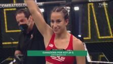 ¡Detienen la pelea! Melissa Amaya se impone a Gisselle García