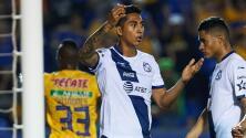 Julián Quiñones le puso la 'cereza al pastel': Tigres anotó el 4-0 ante Puebla