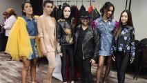 """Diseñador de moda se convierte en el primer hispano que participa en la gala """"Pink and Black Gala"""""""