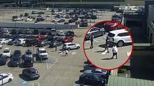 Roban y disparan a un hombre en el estacionamiento del Lenox Mall