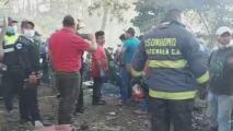 Heridos, gritos y cenizas: la situación tras explosión de una fábrica de pólvora