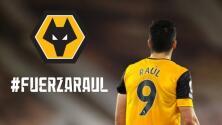 Wolves habilita sitio para recibir mensajes de apoyo a Raúl Jiménez