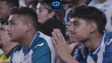 ¡Lo desearon! Afición de Honduras quería a México en Copa Oro