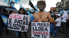 Guatemala se moviliza para exigir renuncia del presidente Otto Pérez Molina