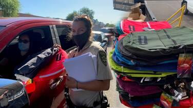 Regalarán 3,000 mochilas con útiles escolares a estudiantes para el regreso a clases en Tucson