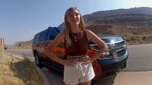 """""""La golpeó y subieron al auto"""": llamada al 911 alerta cuando Gabby Petito fue supuestamente agredida por su novio"""