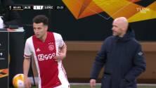¡Ajax está en Octavos! Neres sentenció el partido ante el Lille