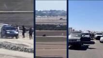 Por aire y tierra: Así fue una persecución de la Patrulla Fronteriza en Arizona