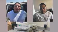 Arrestan a dos presuntos miembros de una pandilla con 11 kilogramos de metanfetaminas en San Antonio