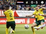 Ajax golea a Fortuna Sittard y llega a 27 goles en 5 partidos; Álvarez jugó los 90 minutos