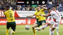 Resumen y goles: Con Edson Ávarez, Ajax golea al Fortuna Sittard