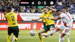 El Ajax es una máquina y vuelve a golear; Edson jugó los 90 minutos