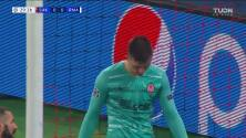 ¡TIRO ATAJADO! disparo por Marco Asensio.