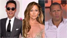 Jennifer López reunió a dos de sus ex con su actual novio Alex Rodríguez y te contamos por qué