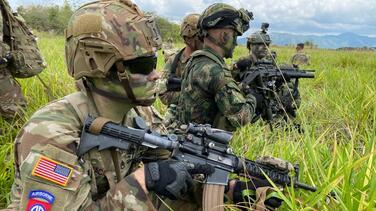 Soldados de Fort Bragg conducen entrenamiento militar en Colombia