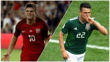 México vs. EEUU: estadísticas de sus jugadores en las principales ligas europeas