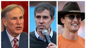 Abbott, O'Rourke o McConaughey: Lo que dice una encuesta sobre las próximas elecciones para la gobernación de Texas
