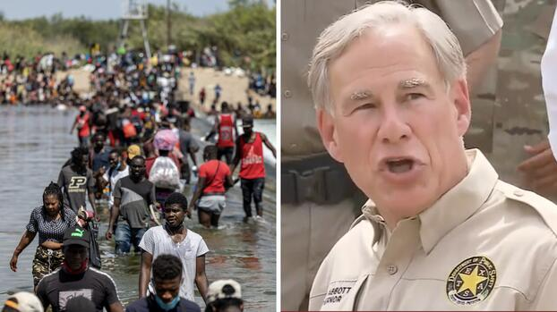 Greg Abbott amenaza con cárcel a inmigrantes que crucen la frontera de forma ilegal