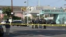Dos personas resultan gravemente heridas en un tiroteo al sur de Los Ángeles