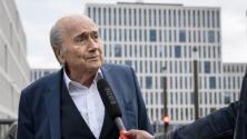 Blatter supera  el coronavirus a sus 84 años de edad