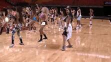 Natalíz estuvo en las audiciones de las bailarinas del Miami Heat
