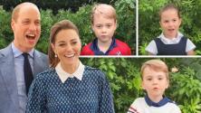 Por fin conocemos la voz del príncipe Louis en una entrevista junto a sus hermanos George y Charlotte