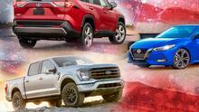 Los carros más vendidos en EEUU tras el tercer trimestre de 2021