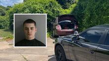 Con un auto lleno de indocumentados, conductor adolescente huye de la policía y su hazaña termina mal