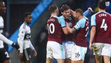 Increíble: El Burnley le ganó al Fulham 2-1 sin hacer un remate directo a puerta en todo el partido