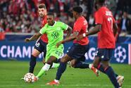 Wolfsburg le roba un punto de visita al Lille