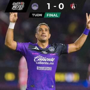 Resumen   Mazatlán FC doblega al Atlas con un Vikonis salvador