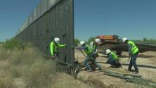 Construcción del muro fronterizo avanza a paso acelerado: lo quieren listo antes de que termine la pandemia