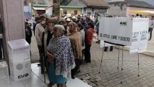 Las elecciones en México transcurren entre retrasos, falta de boletas y algunos incidentes violentos