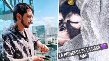 """""""Están crucificando a Christian Nodal"""": El cantante es denunciado por poseer un mono araña bebé"""